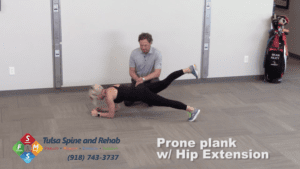 Prone Plank Extension