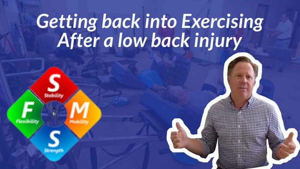 Ask Dr. Riley: I recently suffered a low back injury is it safe to exercise?