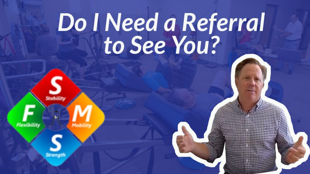 Do I need a referral to come see you?